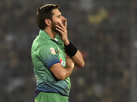 shahid afridi having bad luck now a days